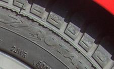 Verblasste Reifen